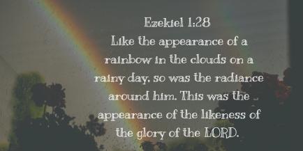 Ezekiel 1.28 rainbow