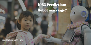 robot marriage?