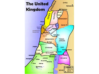 Map of the Kingdom of Israel