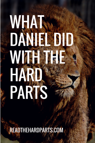 What Daniel Did with the Hard Parts