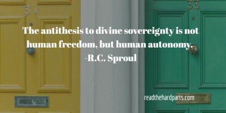 human freedom, human autonomy