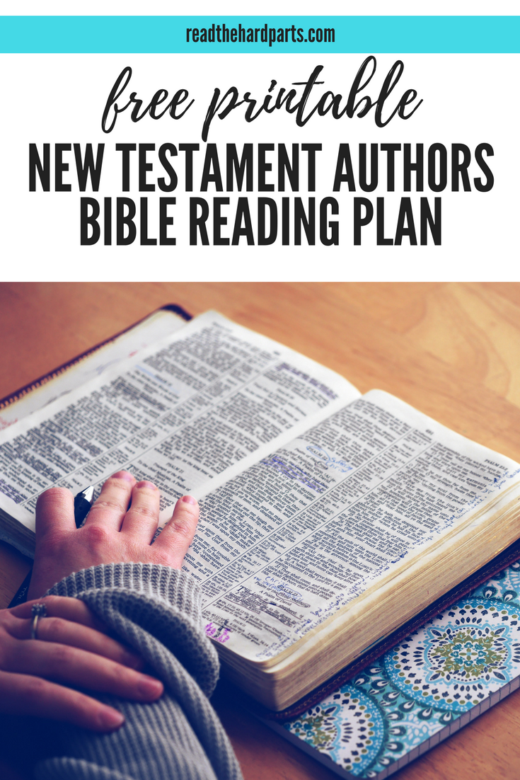 Read The New Testament Grouped By Author Bonus Free Bible Reading